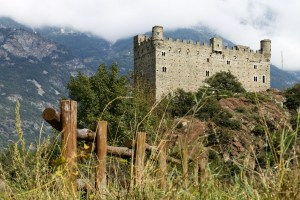 Valle d'Aosta Castle Ussel Aosta