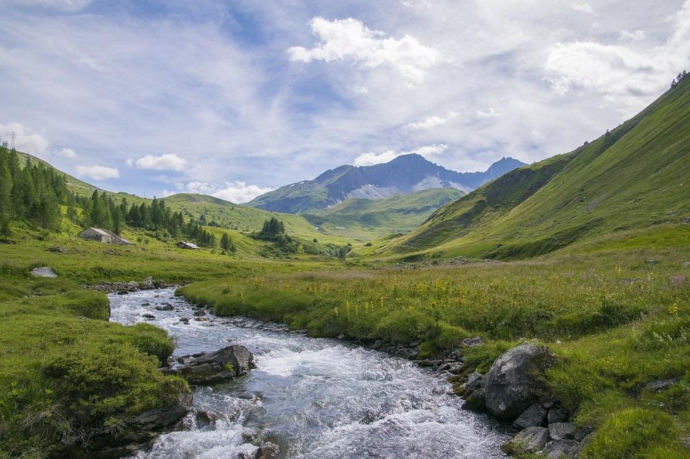 Aosta Valley Alpler Italya