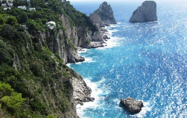 Amalfi cliffs, Italy