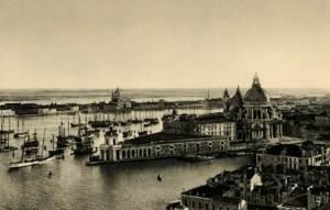 Canal Grande, Santa Maria della Salute, Venice, Venezia 1927