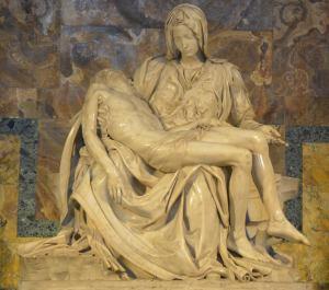 la pieta st peters basilica Vatican Rome Italy