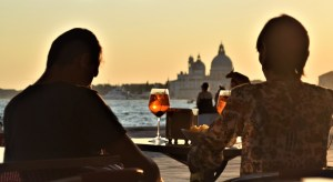 Venice spritz at sunset
