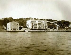 Austrian embassy, Istanbul, 1890 Bosphorus