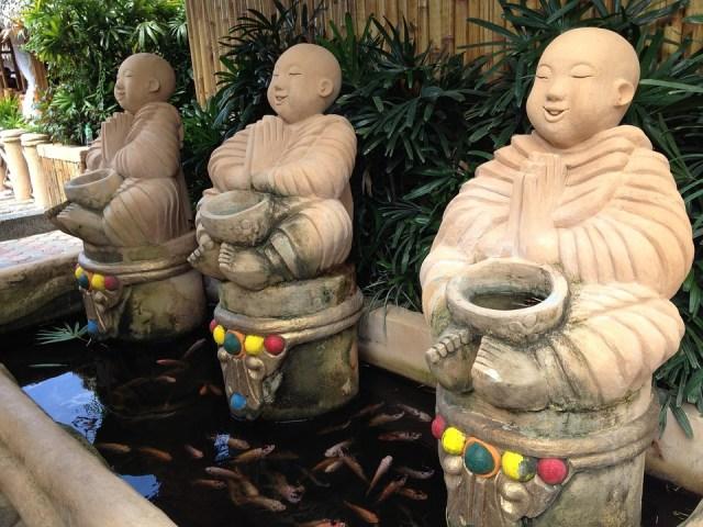 Philippines mythology, buddha statues