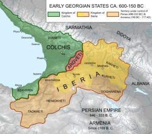 Lazica map