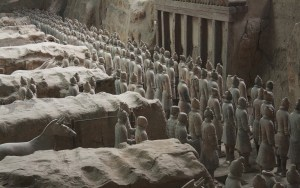 terracotta army of ancient china