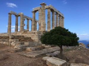 Tapınak Poseidon Yunanistan Cape Sounion Mitoloji