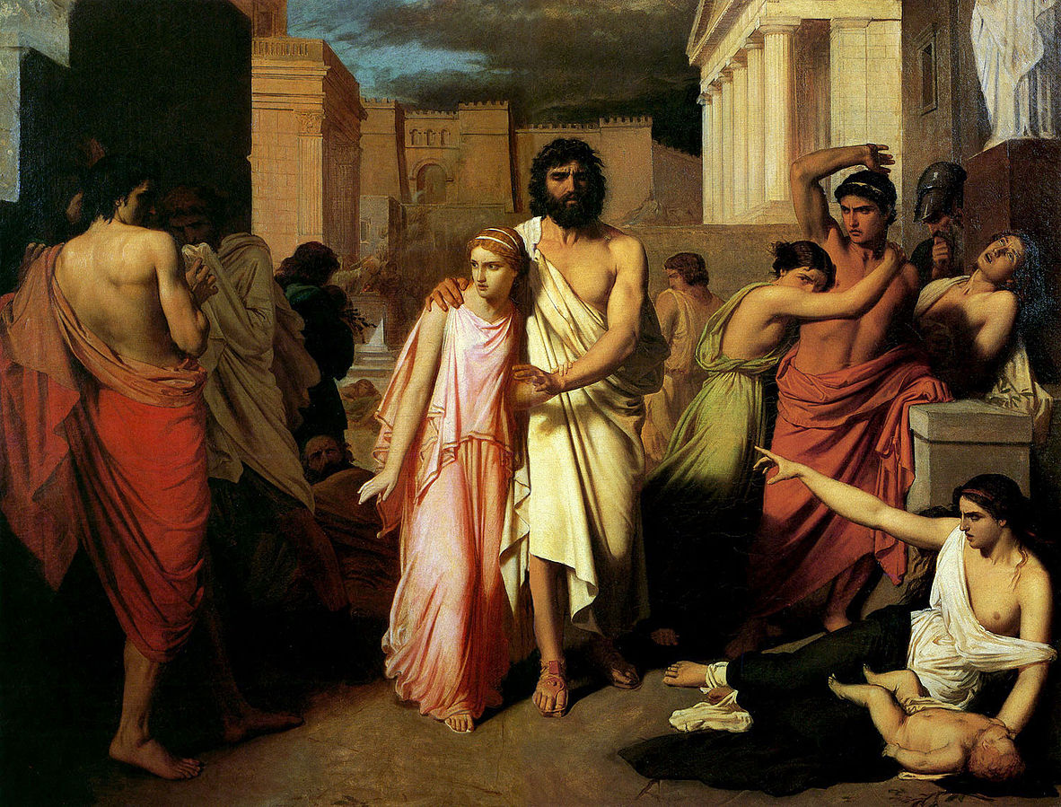 Oepidus and Antigone
