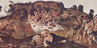 Battle of Centaurs and Lapiths, by Piero di Cosimo