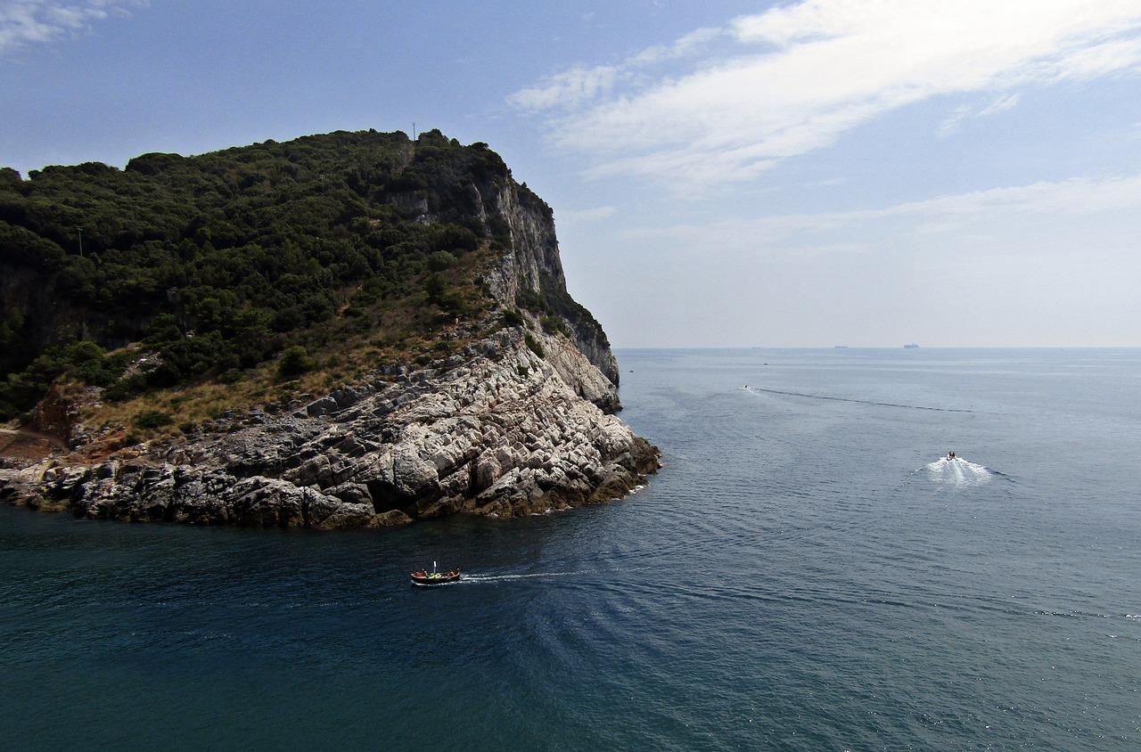 Palmaria Liguria Italya