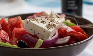 greek salad feta cheese greece