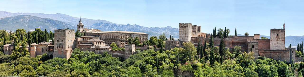 Alhambra palace. Andalusia, Spain