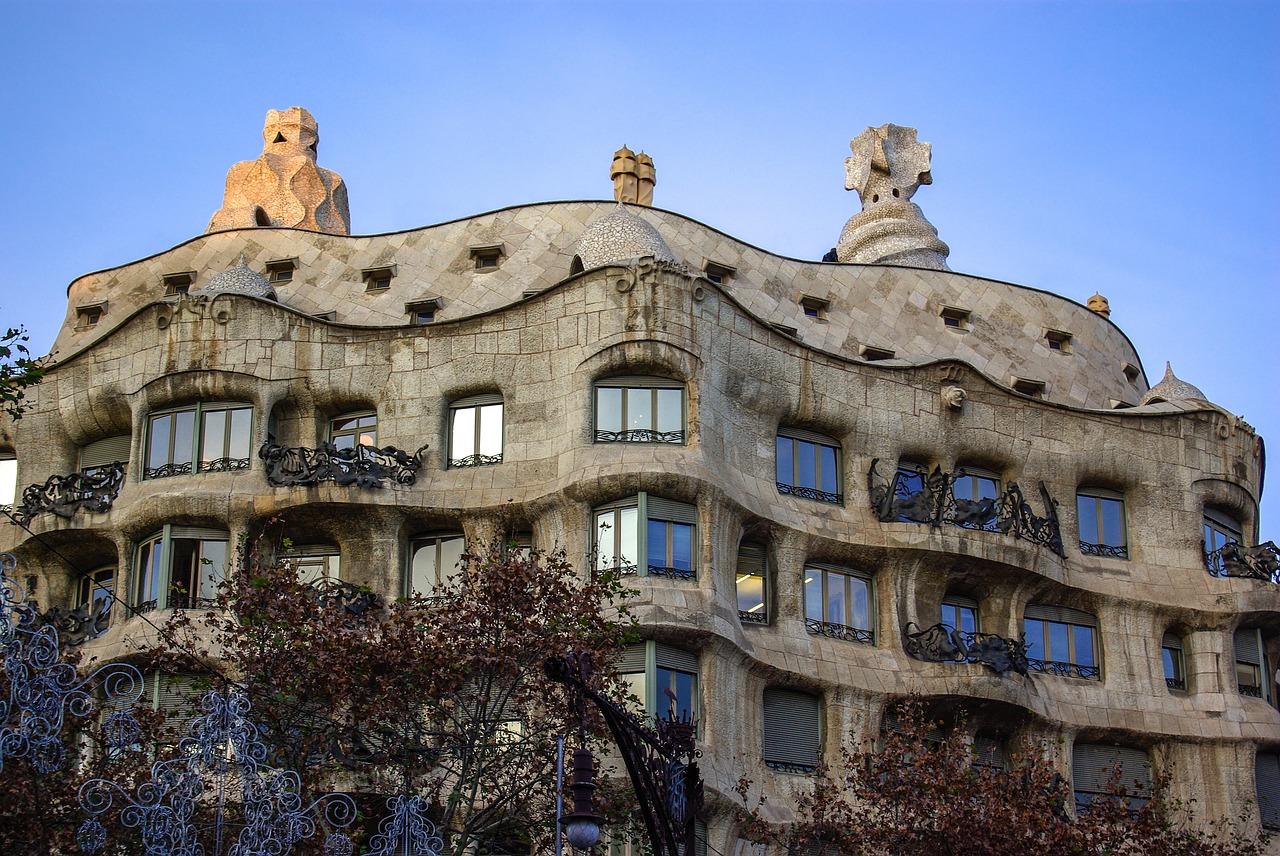 Gaudi Casa Mila Barcelona Catalonia