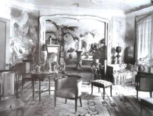 Interior Casa Milà 1910