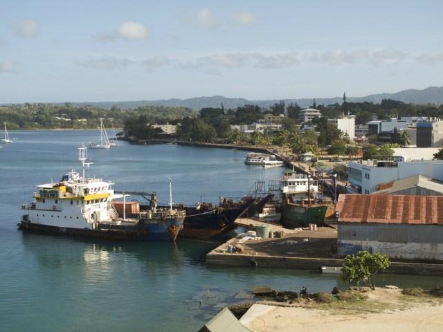 Vanuatu port