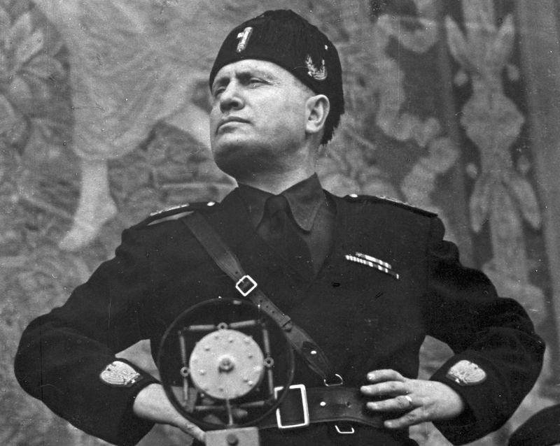 talian statesman Benito Mussolini. (Roger Viollet/Getty Images/Roger Viollet/Getty Images)