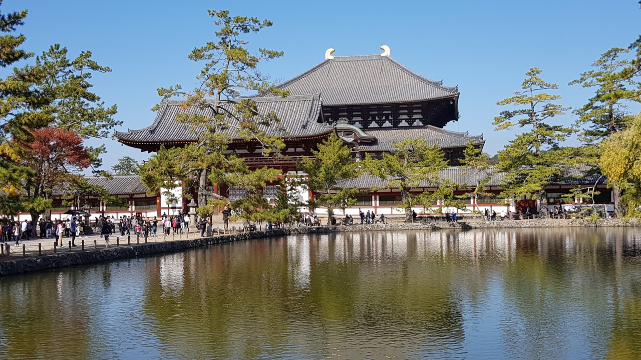 Todaiji Temple 東大寺, Japan Todaiji Buddhist Temple