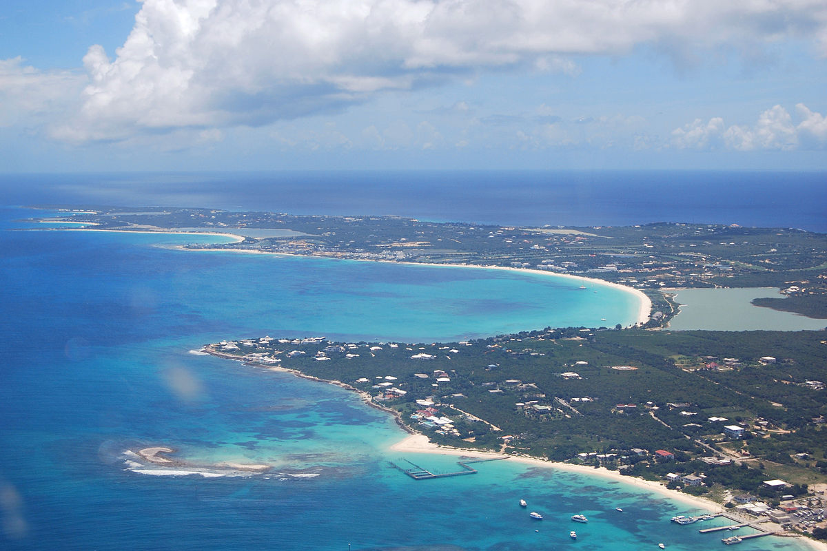 Anguilla aerial view western portion (Wikimedia, Roy Googin)