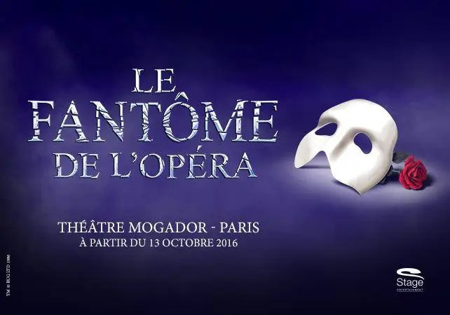 The Phantom of the Opera Paris