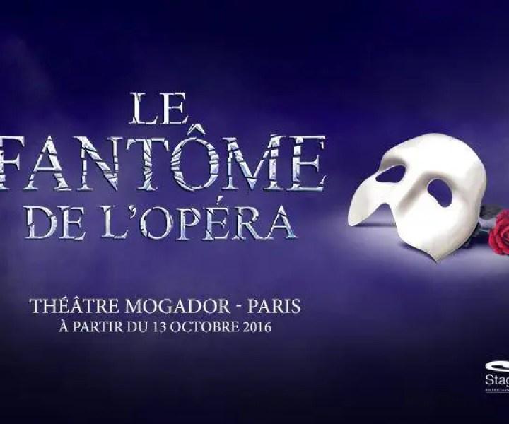 The Phantom of the Opera Paris