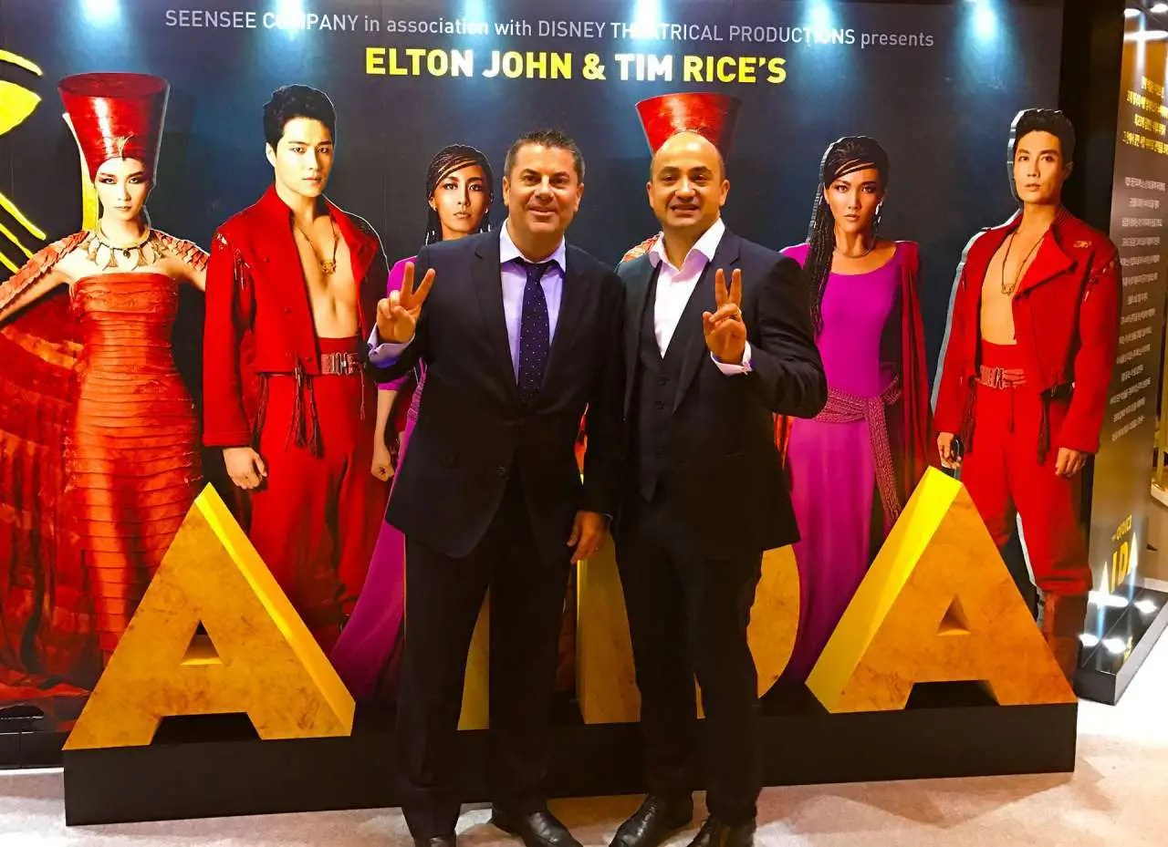 AIDA PRESS NIGHT - David and Antonello Totaro