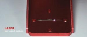 Laser non contact marking