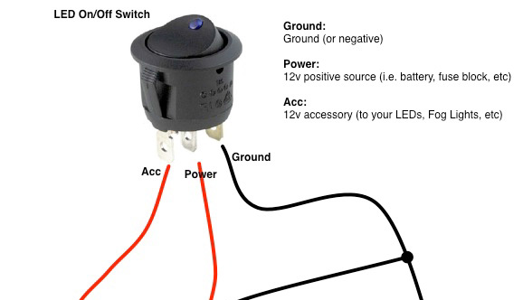 How To Wire Rocker Switches
