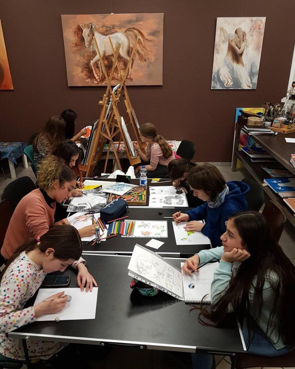 Kunstkurse für Jugendliche