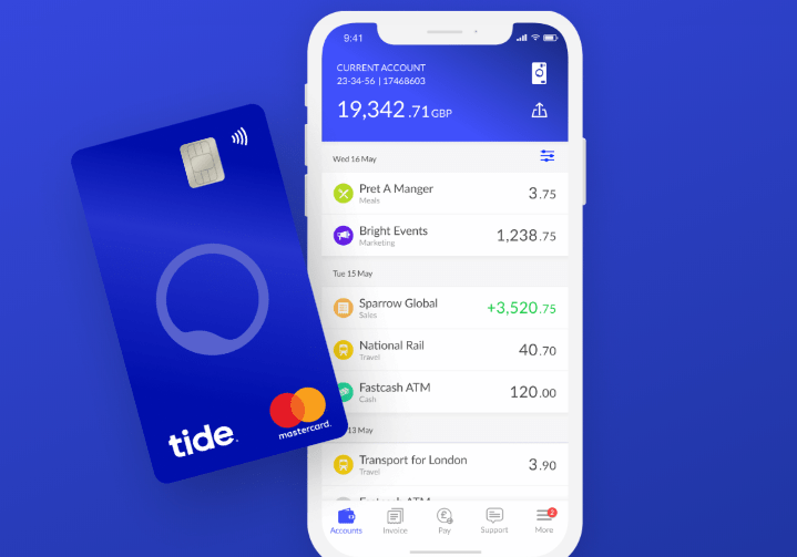 Ozone launches PSD2 API for Tide Bank