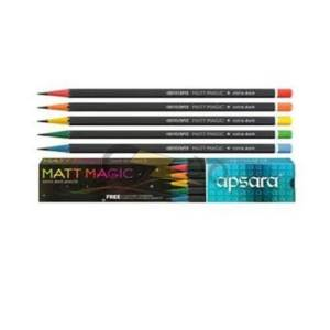 Apsara Matt Magic Wooden Pencils