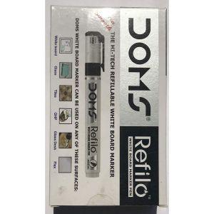 Doms Black Refilo White Board Marker