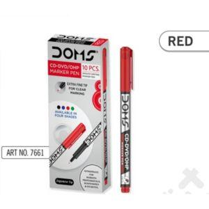 Doms Red CD-DVD/OHP Marker Pen