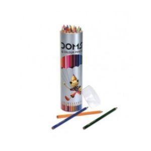 Doms Tin Box 14 Shades Colour Pencils
