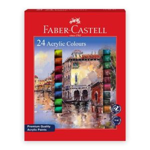 faber castell Acrylic Colour Tube 24 Shade