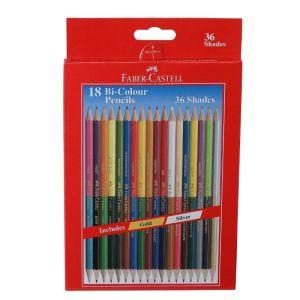 Faber Castell Bi-colours Pencil (18 Shades)