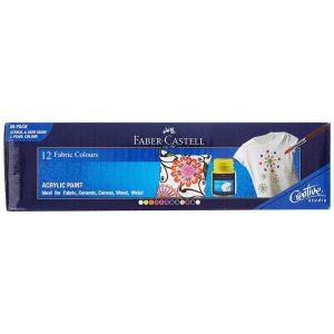 Faber Castell Fabric Colour (12 Shade)
