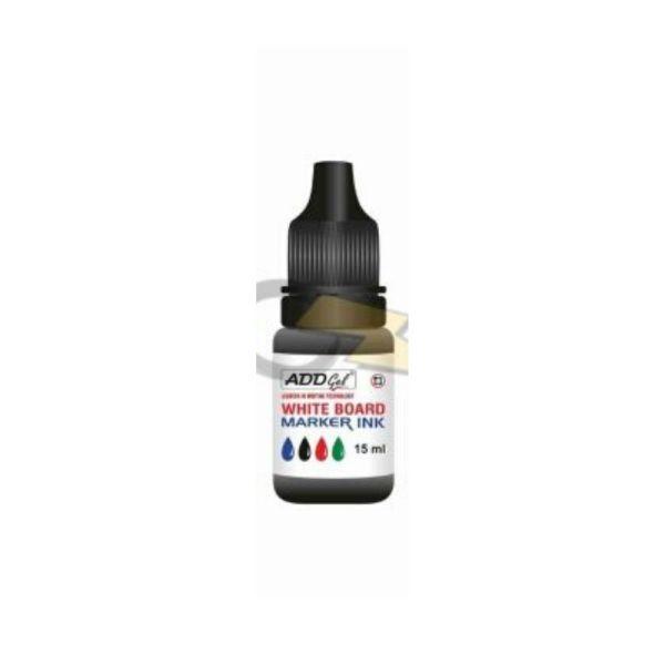 ADD Gel Black White Board Marker Refill