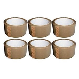 Apex 2 inch Brown Tape 65 mtr Pack of 6
