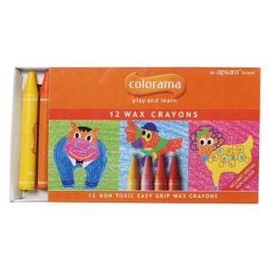 Apsara 12 Wax Crayons