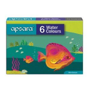 Apsara 6 Water Color Tubes