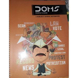 Doms Spiral Note Book 1 Subject