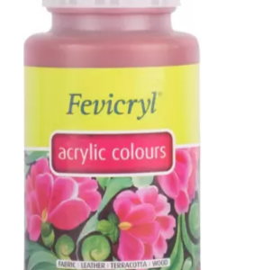 Fevicryl Pidilite Acrylic Colour Indian Red (500 Ml)