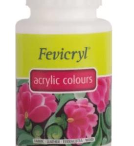 Fevicryl Pidilite Acrylic Colour White (500 Ml)