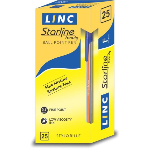 Linc Starline Black Ball Pen