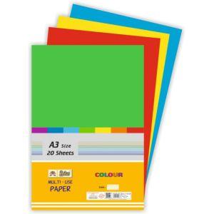 Lotus A3 Pastel Sheet Mix Colour