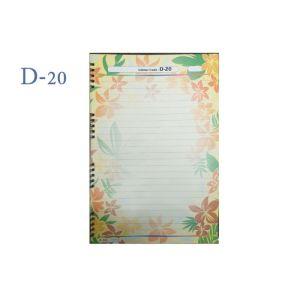 Lotus A4 Designer Colour Sheet's (D-20)