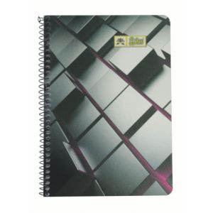 Lotus Spiral Note Book (2)