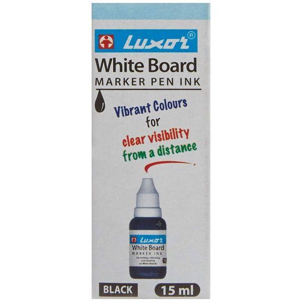 Luxor Black White Board Marker Ink