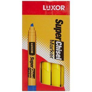 Luxor Yellow Super Chisel Marker