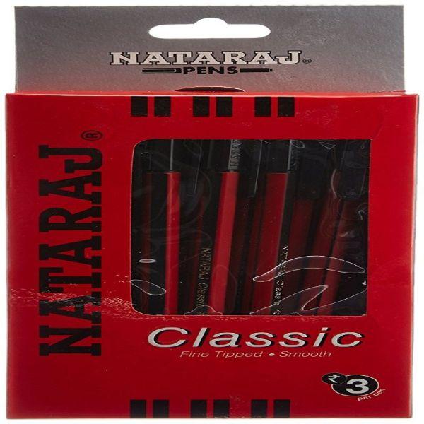 Nataraj Classic Black Ball Pen